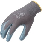 GANTS TRICOTES POLYAMIDE GRIS ENDUCTION NITRILE
