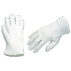 GANTS INTERLOCK COTON BLANC