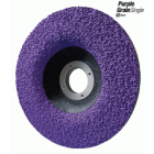 DISQUE ABRASIF CERAMIC 125 PURPLE GRAIN SINGLE GR36